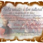 Secretaria da Educação realiza live cultural para lançamento de livro