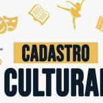 Inscrições para Cadastro Cultural do Município