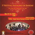 1° Festival Natalino de Bandas Online ocorre dia 19 de dezembro