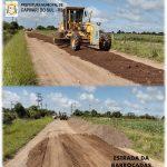 Recuperação das estradas vicinais do município