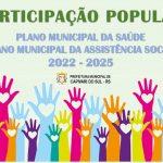 PARTICIPAÇÃO POPULAR - SAÚDE E ASSISTÊNCIA SOCIAL