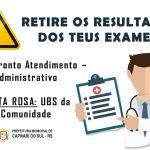 RETIRADA DE EXAMES MÉDICOS