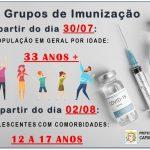 INFORMAÇÕES - VACINAÇÃO COVID-19