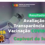 AVALIAÇÃO DA TRANSPARÊNCIA DA VACINAÇÃO COVID-19 – TCE